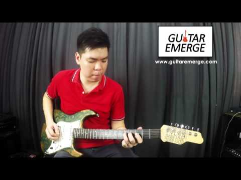 Guitar Emerge - Hillsong Young & Free -  Wake (Electric Guitar Cover)