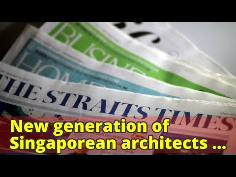 New generation of Singaporean architects recognised for their community and green-centric design