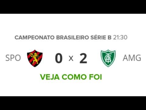 Sport 0 x 2 América-MG | Melhores Momentos (COMPLETO) Brasileirão Serie B 20/09/2019 | Futebol