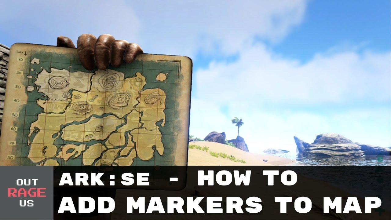 ark survival evolved térkép ARK: Survival Evolved   How to place a Map Marker I Navigation