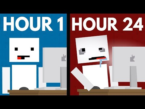 What Happens When You Stare At A Screen For 24 Hours? ft. TheOdd1sOut