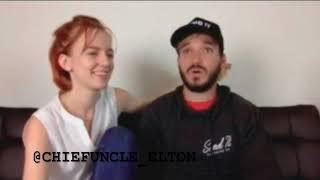 Elton Castee and Amanda Swearingen