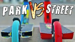 *PARK vs STREET* BEST CUSTOM PRO SCOOTERS