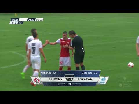 9. krog: Aluminij - Ankaran 1:1 ; Prva liga Telekom Slovenije 2017/18
