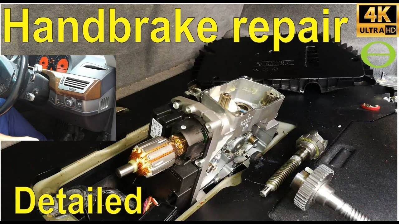 How To Repair The Electronic Park Brake Actuator Gear On A