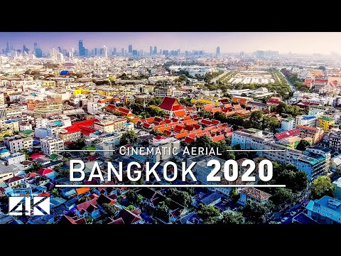 【4K】Drone Footage | BANGKOK - Capital of Thailand 2019 ..:: Cinematic Aerial Film | กรุงเทพมหานคร
