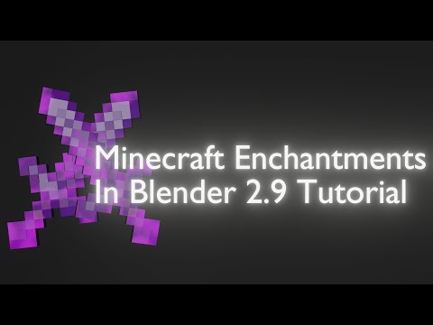 Download How To Make A 3D Enchanted Netherite Sword In Blender - Modeling & Texturing Tutorial #22