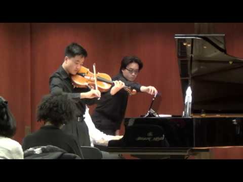 Joshua Cai - Enescu Konzertstuck for Viola and Piano