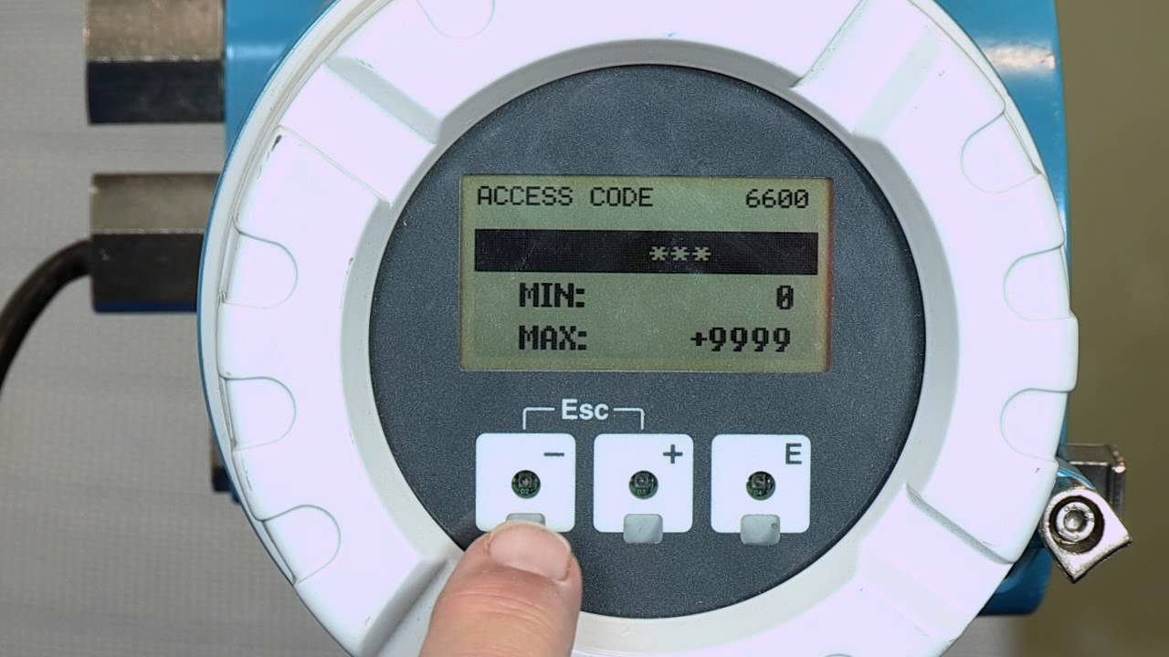 Changing Installation Direction Electronically – Promag 53, Promass 83,  Prosonic 93