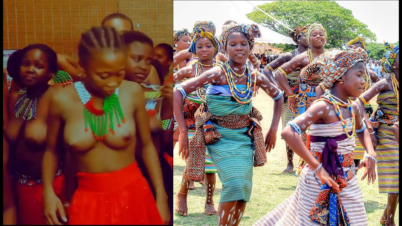 GHANA TRADITIONAL MUSIC - DANCE OF AN EWE TRIBES GIRL { EWE PEOPLE }