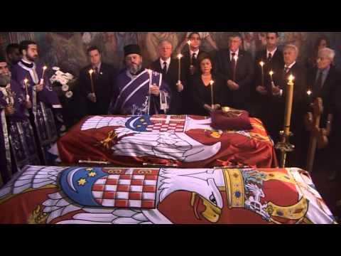 Земни остаци Њ.В. Краљице Марије враћени у Србију - HM Queen Maria remains repatriated to Serbia