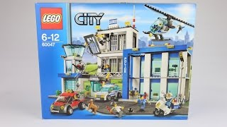 Lego City Police Station. Lego 60047 Speed Build Kids Toy