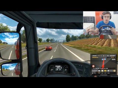 Euro Truck Simulator 2 - Bölüm 3 - Burak Oyunda [HD]