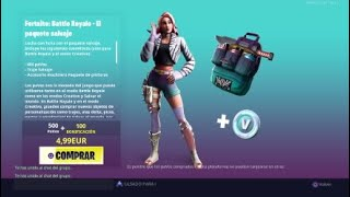NEW STARTER PACK *THE WILD PACK*NEW FORTNITE STORE 4/06/19