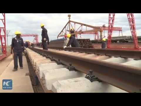 Kenyan youth gains skills on railway technology from China