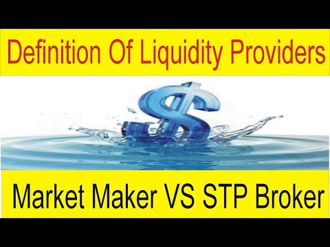 Definition Of Liquidity Providers in Forex Business | Market Maker vs STP Brokers Tutorial by Tani