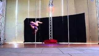 2nd Place Jeni B. - Intermediate - 2015 Epic Pole Dance Competition