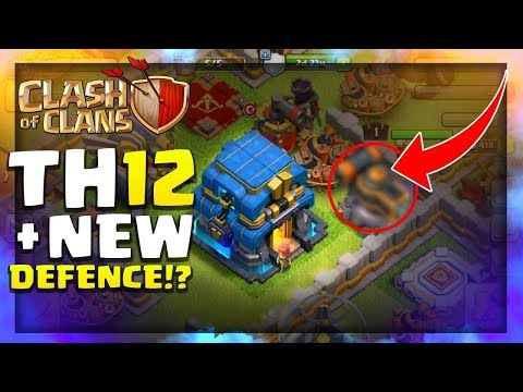 TOWN HALL 12 + NEW DEFENCE & NEW TROOP! | Clash of Clans June Update 2018 - CoC Update News
