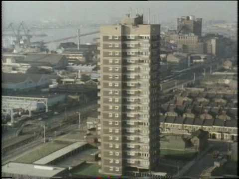 West Ham and the  Royal Docks - London - 1970's