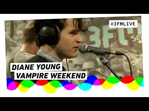 Vampire Weekend - Diane Young | 3FM Live