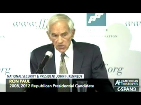 """Ron Paul """"We As Americans Should Really Question WHO THE ENEMIES ARE!"""" (23:55)"""