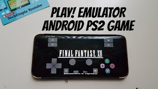 [PS2] Final Fantasy 12 Gameplay Play! Emulator PS2 Games on Android smartphone/IN GAME/Test/2017