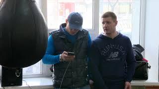 Денис Беринчик. Открытая тренировка перед вечером бокса 23 апреля. Киев, 14/04/16