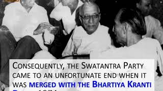 Swatantra Party: India's First Liberal Party