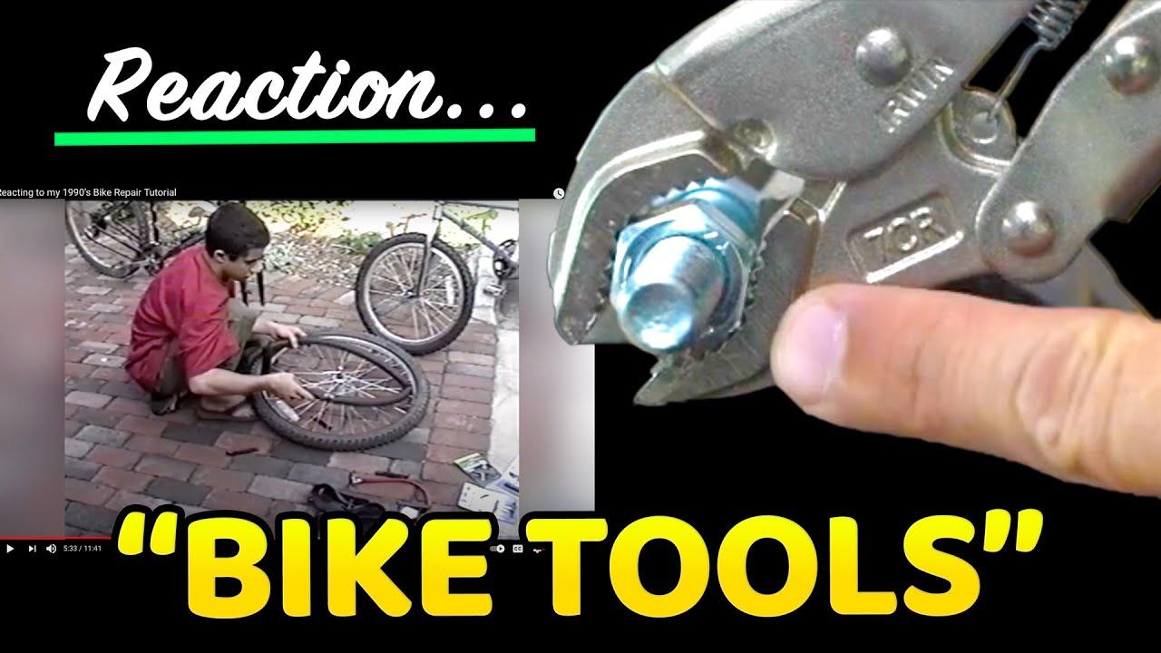 Reacting to my 1990's Bike Repair Tutorial