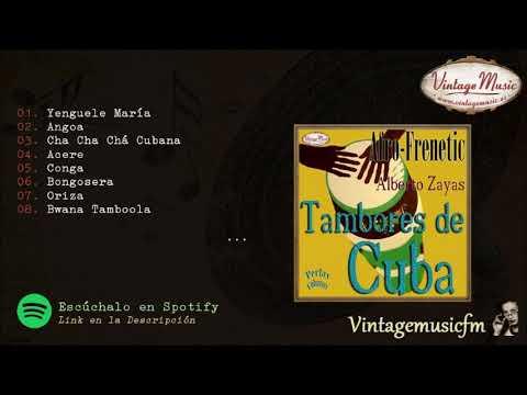 Alberto Zayas. Tambores de Cuba. Colección Perlas Cubanas #130 (Full Album/Album Completo)