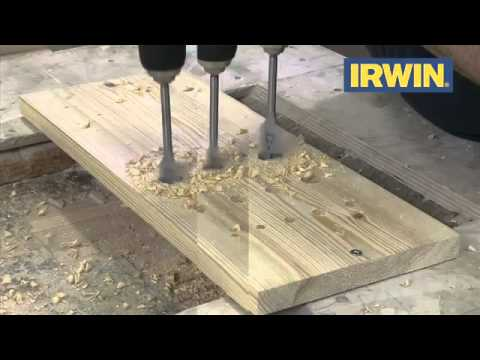 Irwin Flat Wood Bit Set Real Deals For You 2013 - PTC Tools UK