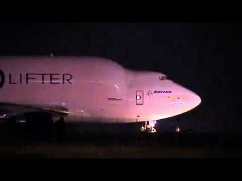 Boeing cargo jet stranded at wrong airport
