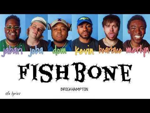 BROCKHAMPTON - Fishbone [color Coded Lyrics]