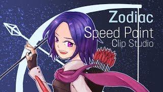 [Speed Painting] 12성좌 사수자리 / Zodiac Sagittarius [스피드페인팅]