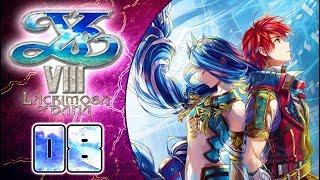 Ys VIII: Lacrimosa of DANA Walkthrough Part 8 (PS4, VITA) English - No Commentary