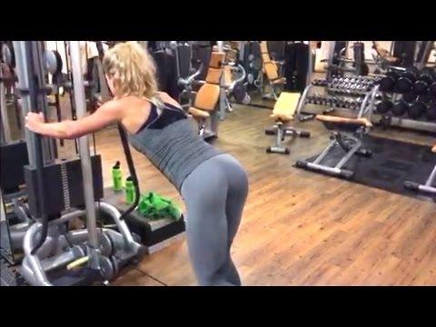 Sexy-Po Workout: Kickback #workoutwednesday - YouTube