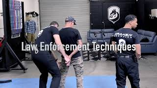TACTICAL HANDCUFFING TRAINING - Arrest, Search & Seizure | Draken Training Security | Los Angeles