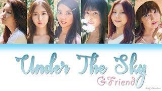 "Under the sky (하늘 아래서) - gfriend (여자친구) ""lyrics"" [han-rom-eng]"