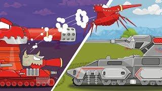 Монстр из Ада Мультики про танки