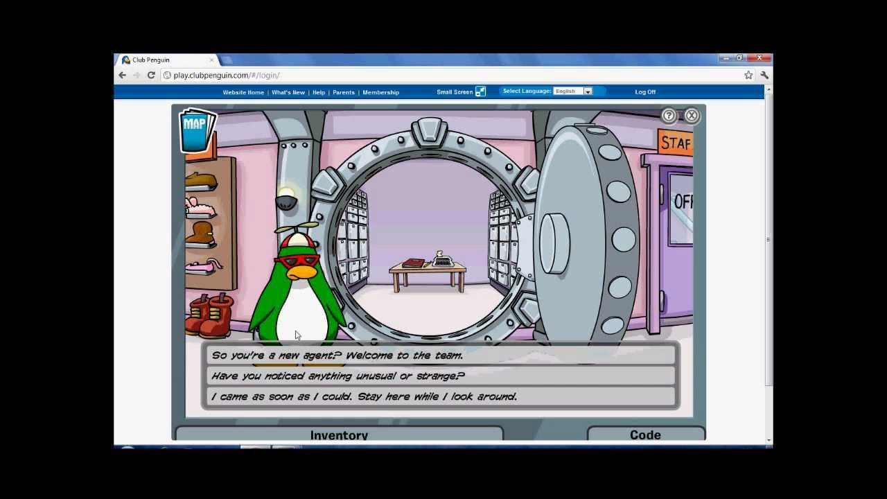 club penguin mission 3 walkthrough [ 1280 x 720 Pixel ]
