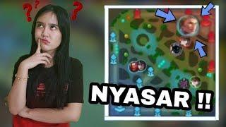 AJARIN PACAR LIHAT MAP !! MALAH NYASAR SAMPE BASE MUSUH !!! - Mobile Legend Indonesia