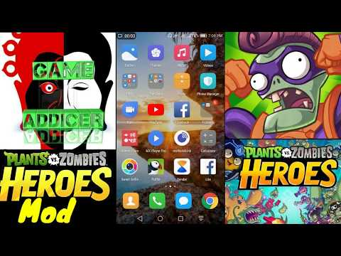 How to download Plants VS Zombies heroes mod free APK for android.