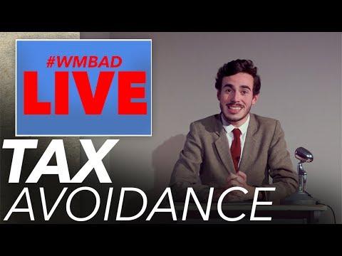 Tax Avoidance | White Man Behind A Desk