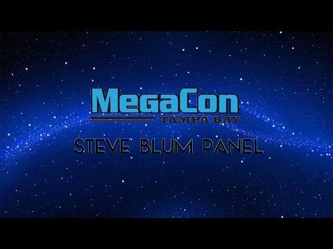 Steve Blum Panel MegaCon Tampa 2016