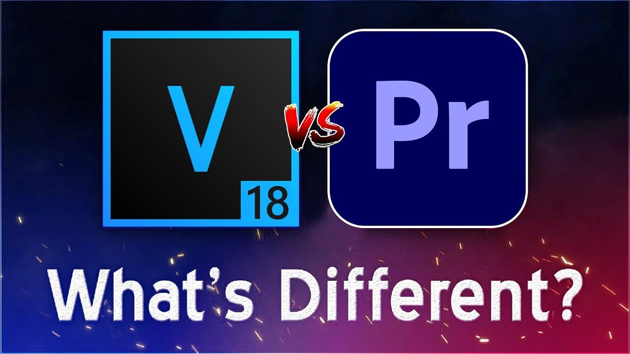 VEGAS Pro 18 VS Premiere Pro 2020 - What's Different