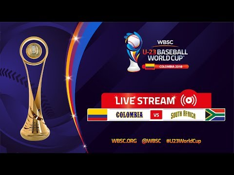 Colombia v South Africa – U-23 Baseball World Cup 2018