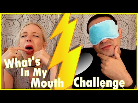 WHAT'S IN MY MOUTH CHALLENGE ft. 2J
