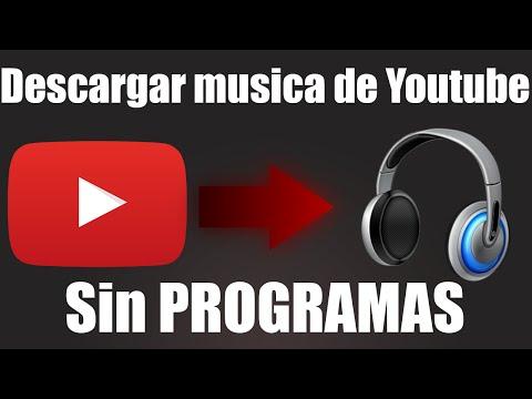 Como descargar Música de Youtube sin PROGRAMAS + Rápido + Facil