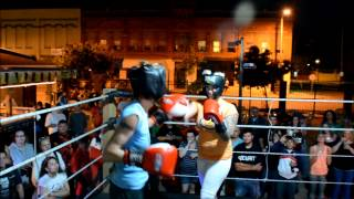 6.5.2014 KELLY vs ROBIN FOXY BOXING at THE TOLEDO
