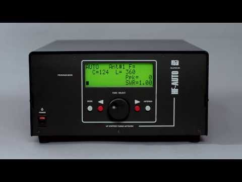 How to Setup Your 1800 Watt HF-AUTO Autotuner from Palstar, Inc.
